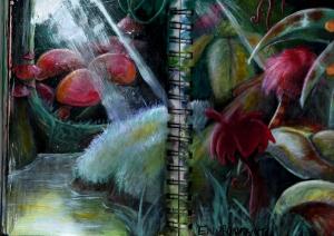 Seuss inspired jungle